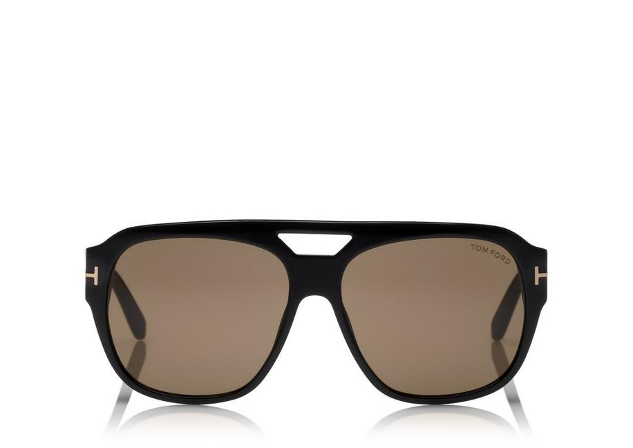 Tom Ford Black Bachardy Aviator Sunglasses 1RqCBfY