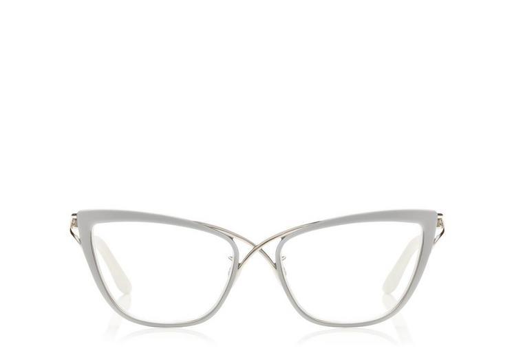 Crossover Cat-Eye Optical Frame A fullsize