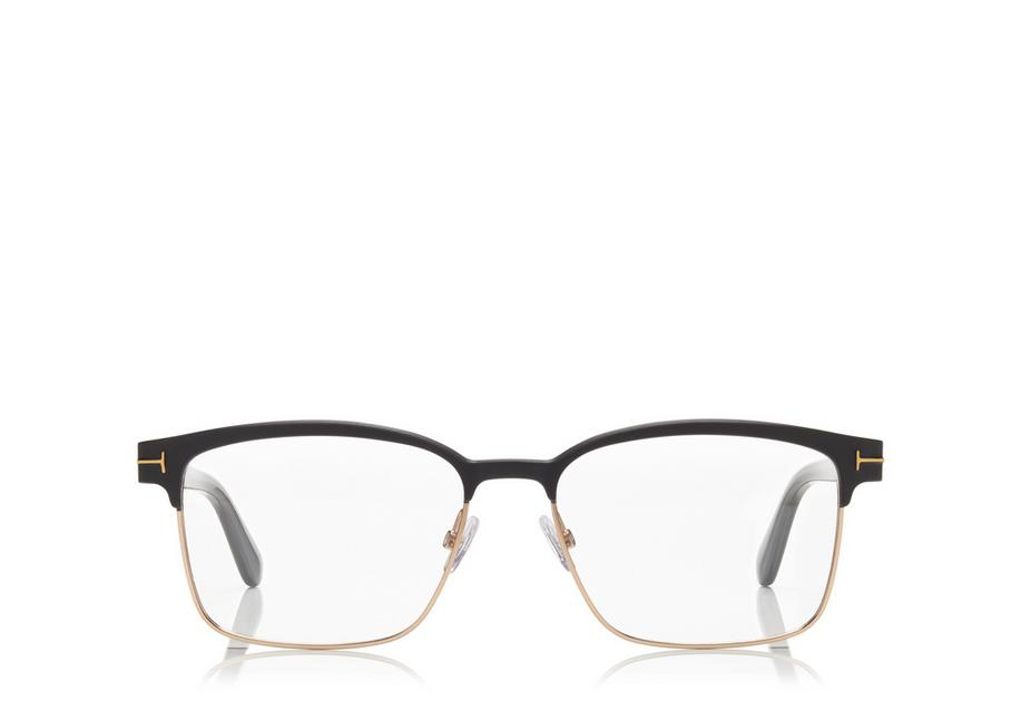 Tom Ford Square Metal Optical Frame Tomford Com