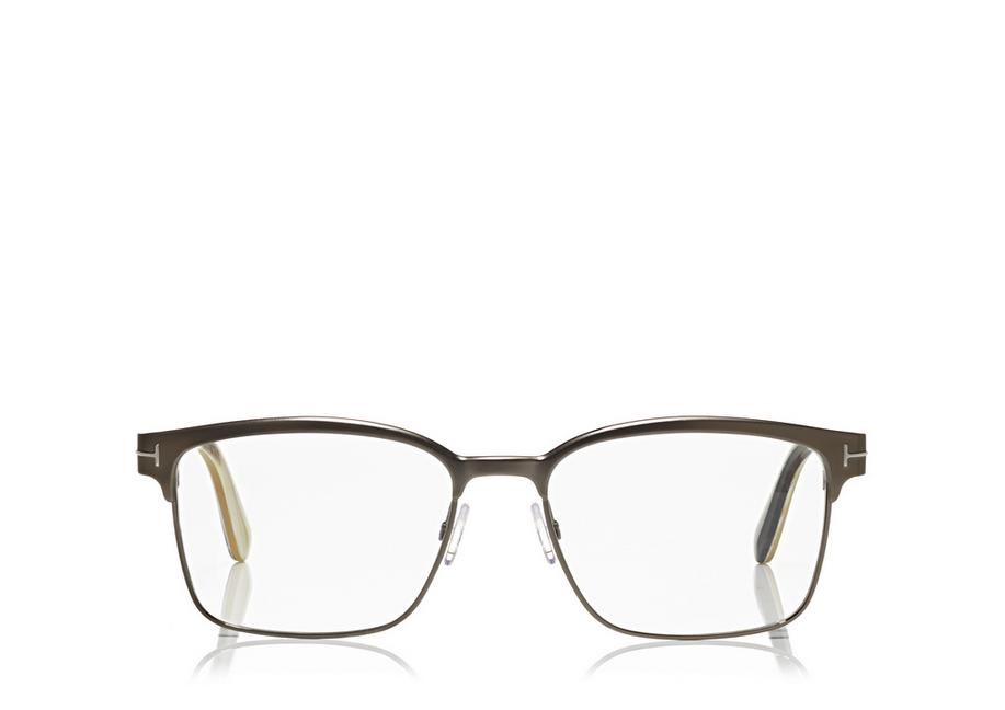 SQUARE METAL OPTICAL FRAME A fullsize