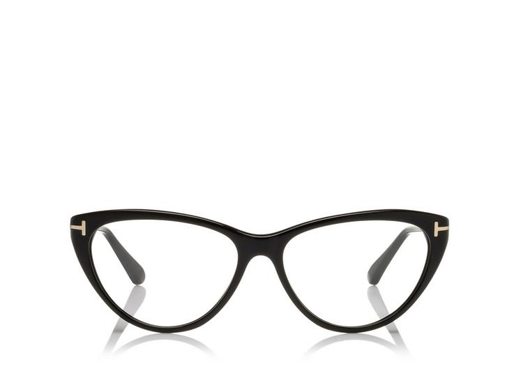 Round Cateye Optical Frame A fullsize