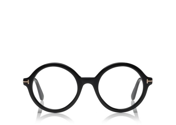 OVERSIZED ROUND OPTICAL FRAME A fullsize