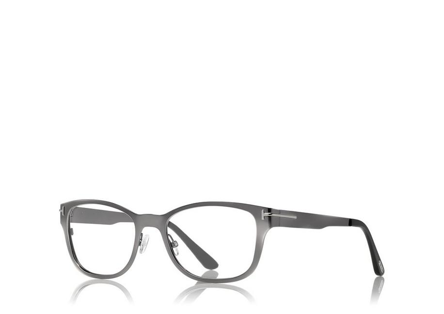 80e9ddb1a634 Tom Ford SOFT SQUARE OPTICAL FRAME WITH MAGNETIC CLIP   TomFord.com