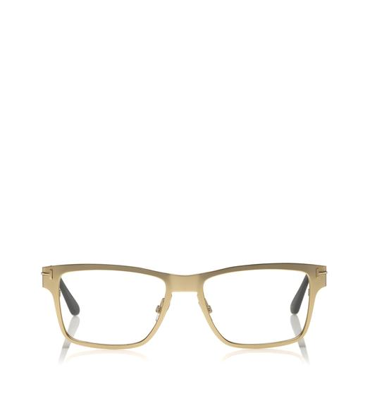 SOFT SQUARE METAL OPTICAL FRAME WITH MAGNETIC CLIP