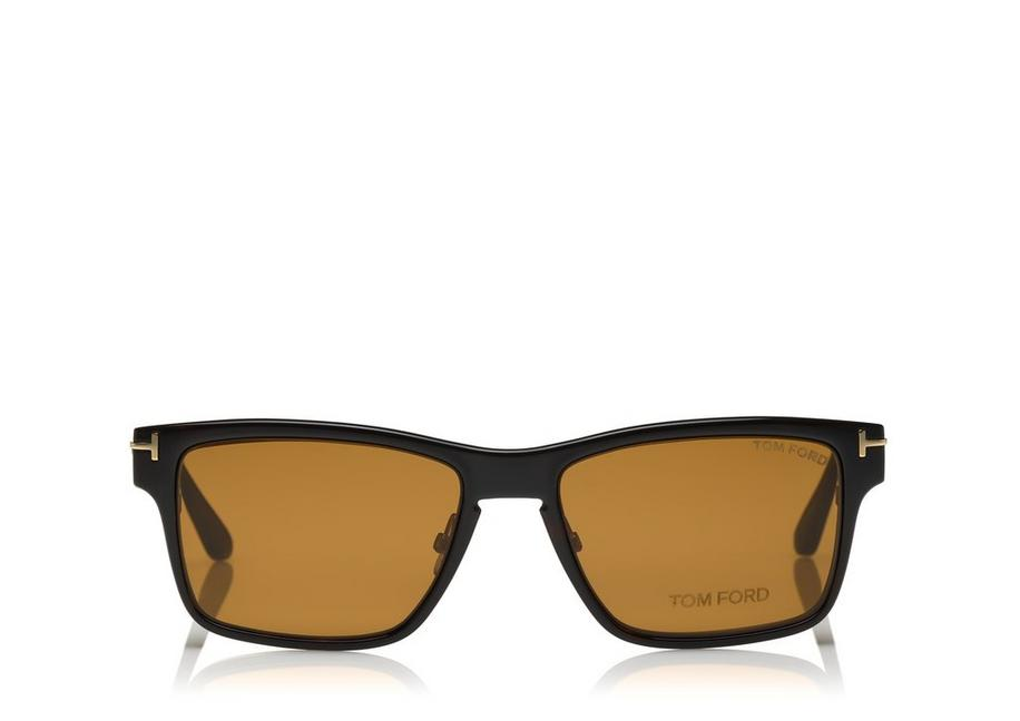 Tom Ford Soft Square Metal Optical Frame With Magnetic