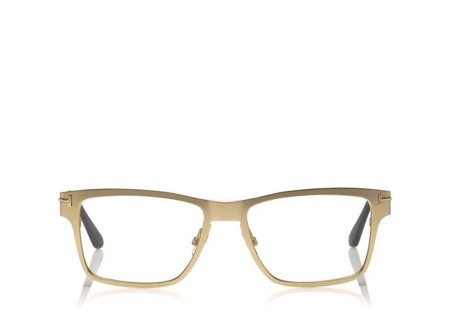 8e2153b5081 Tom Ford SOFT SQUARE METAL OPTICAL FRAME WITH MAGNETIC CLIP ...