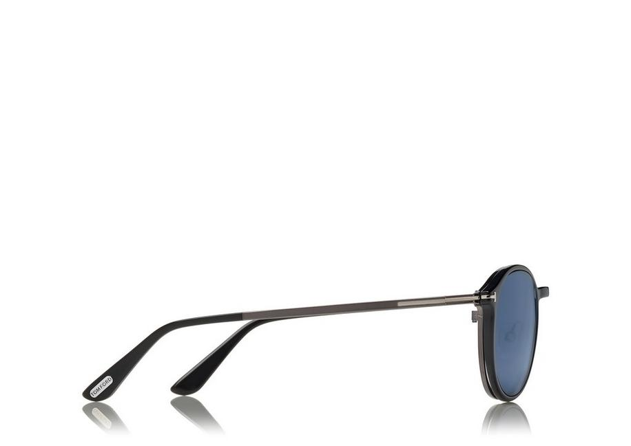 a036ef32b6c SOFT ROUNDED OPTICAL FRAME WITH MAGNETIC CLIP C fullsize