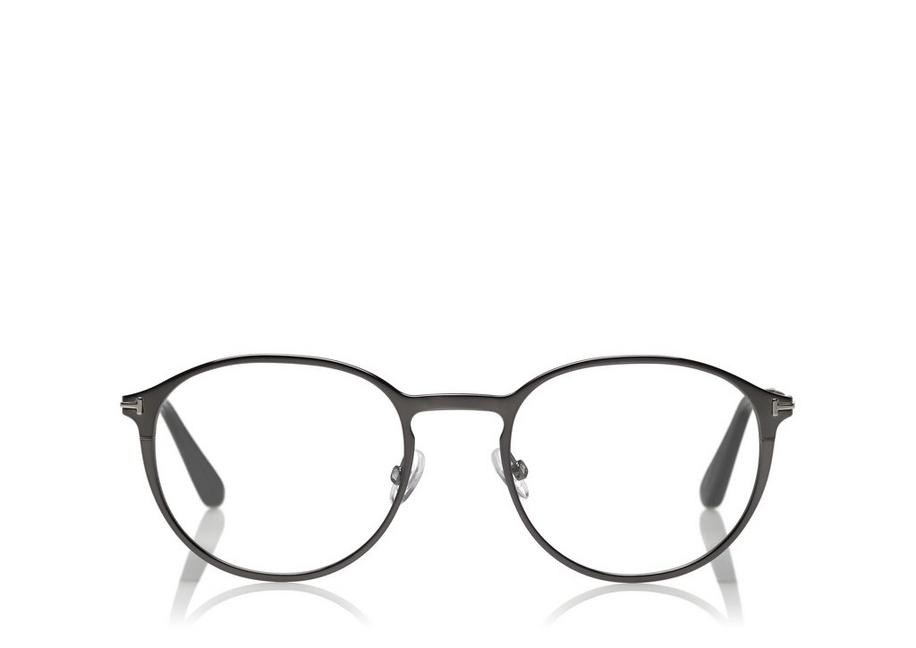 8563ed33e33 Tom Ford SOFT ROUNDED OPTICAL FRAME WITH MAGNETIC CLIP - Men ...