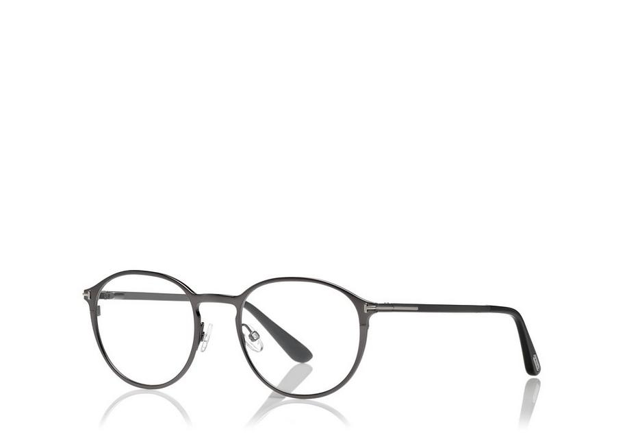 c7a0fb821ba7 Tom Ford SOFT ROUNDED OPTICAL FRAME WITH MAGNETIC CLIP