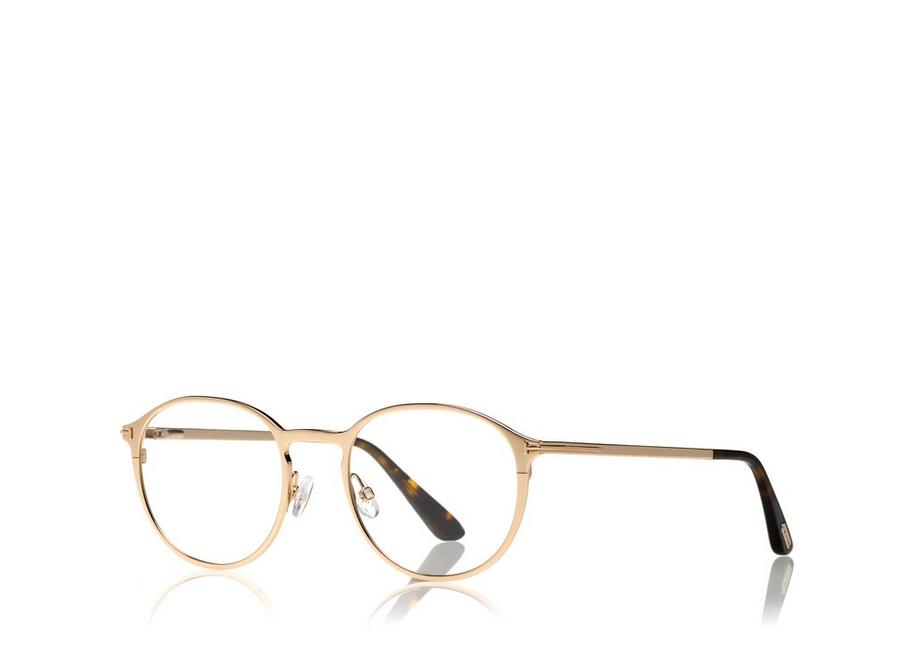 0a459e4b6d8 Tom Ford SOFT ROUNDED OPTICAL FRAME WITH MAGNETIC CLIP
