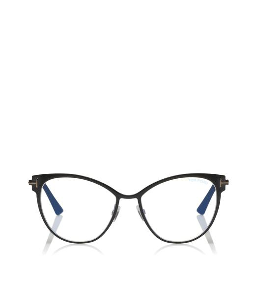 CAT-EYE METAL BLUE BLOCK OPTICALS