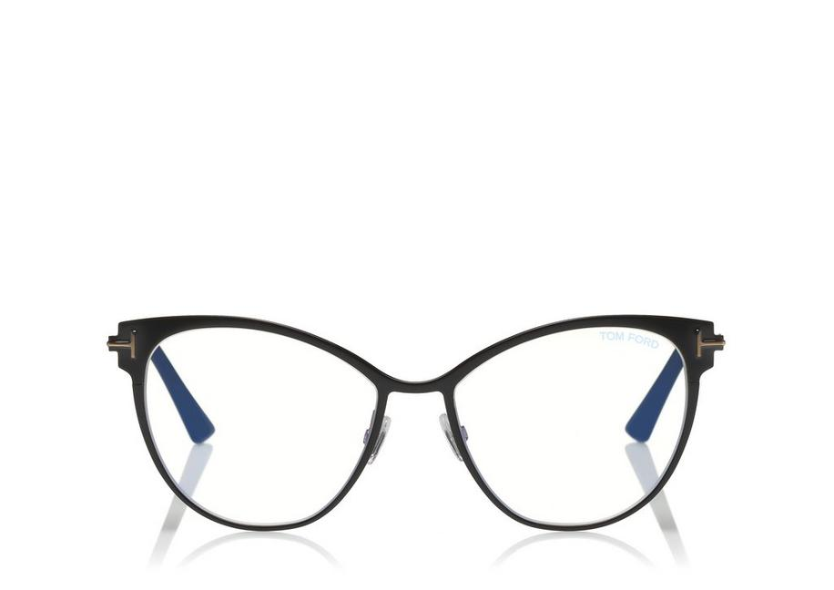 CAT-EYE METAL BLUE BLOCK OPTICALS A fullsize