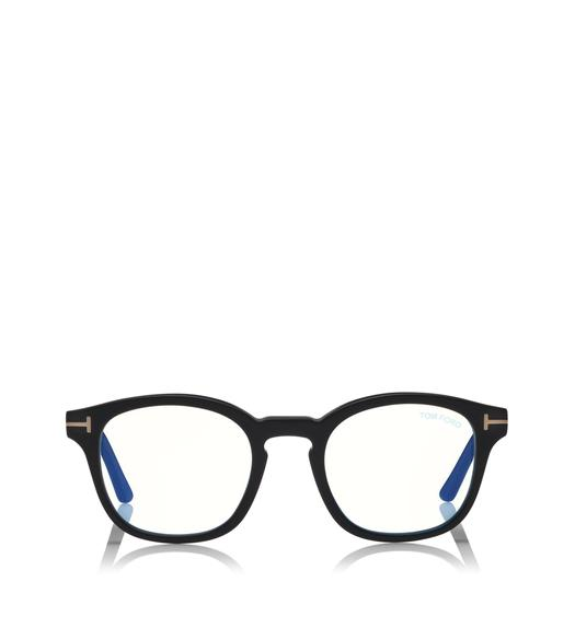 BLUE BLOCK SOFT ROUND OPTICALS