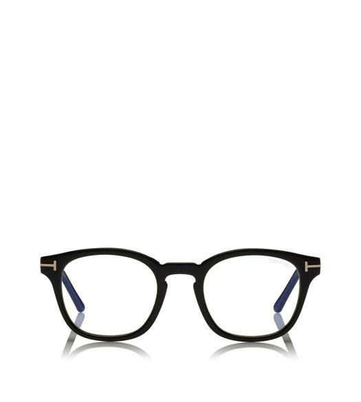 BLUE BLOCK ROUND OPTICALS WITH MAGNETIC CLIP