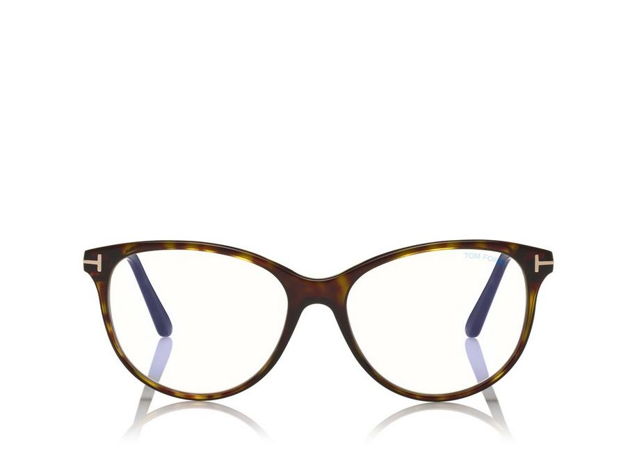 BLUE BLOCK CAT-EYE OPTICALS A fullsize