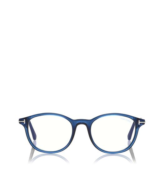 BLUE BLOCK SOFT ROUNDED OPTICALS