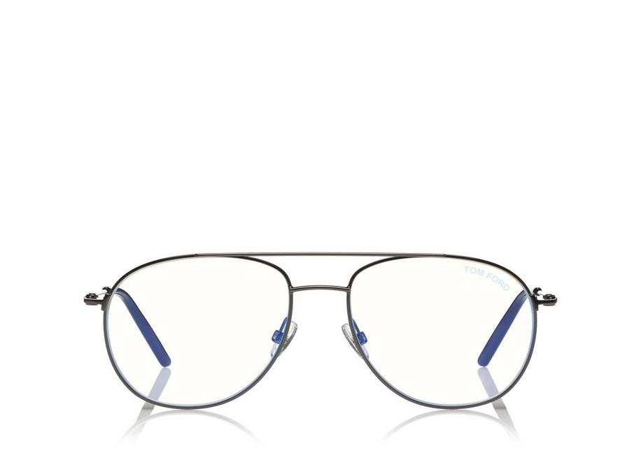 BLUE BLOCK AVIATOR OPTICALS A fullsize