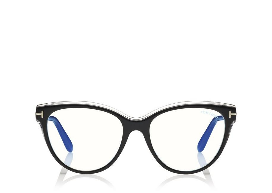 BLUE BLOCK SOFT CAT-EYE OPTICALS A fullsize