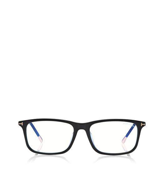 BLUE BLOCK SQUARE OPTICALS