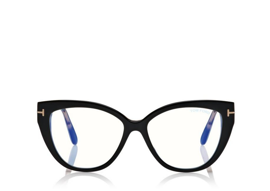 BLUE BLOCK SOFT CAT EYE OPTICALS A fullsize