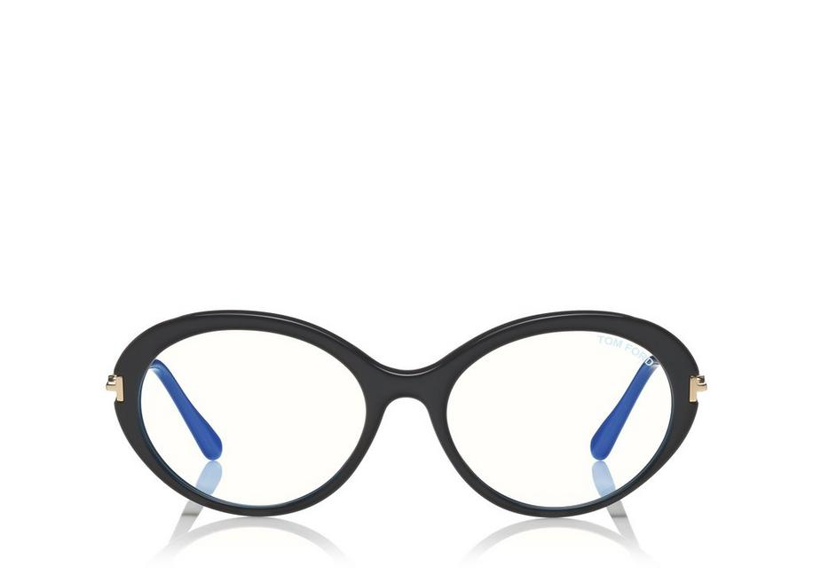 BLUE BLOCK OVAL OPTICALS A fullsize
