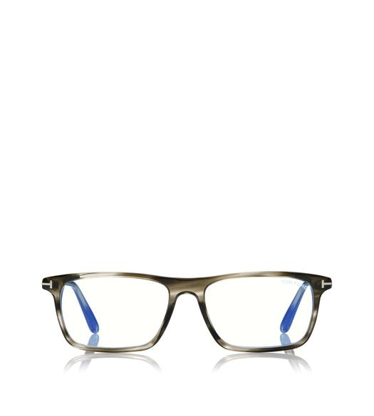 BLUE BLOCK SLIM RECTANGULAR OPTICAL