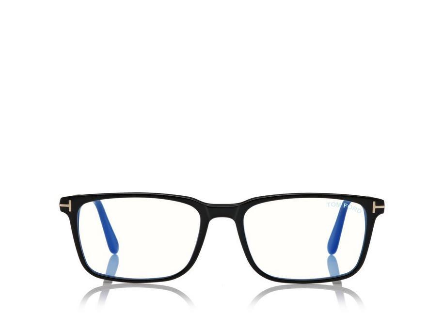 RECTANGLE BLUE BLOCK OPTICAL A fullsize