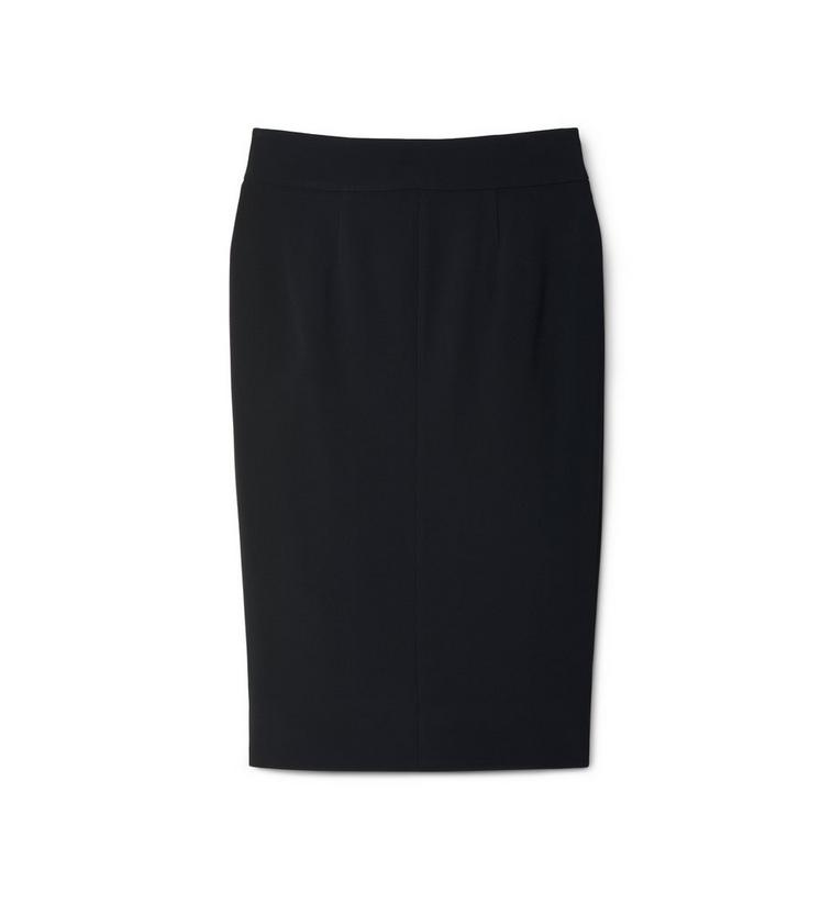 PENCIL SKIRT WITH CENTER FRONT ZIP B fullsize