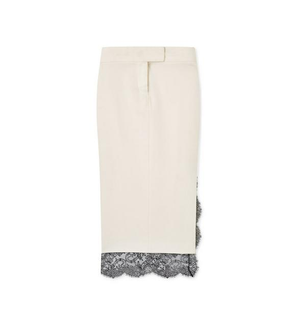 LIGHT MIKADO TROUSER SKIRT A fullsize