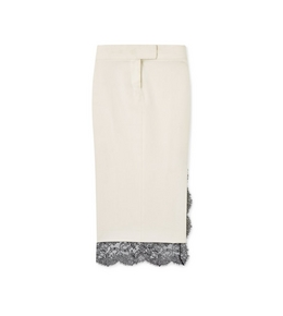 3005269690 LIGHT MIKADO TROUSER SKIRT