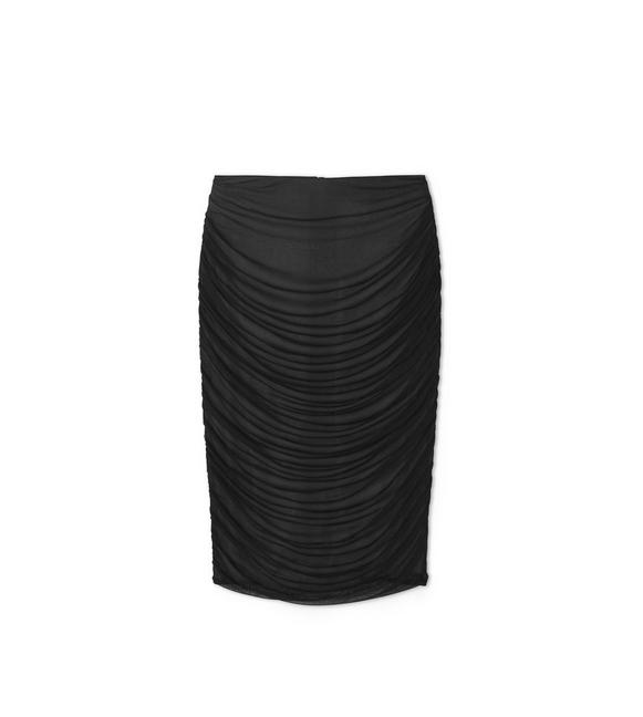 RUCHED PENCIL SKIRT A fullsize