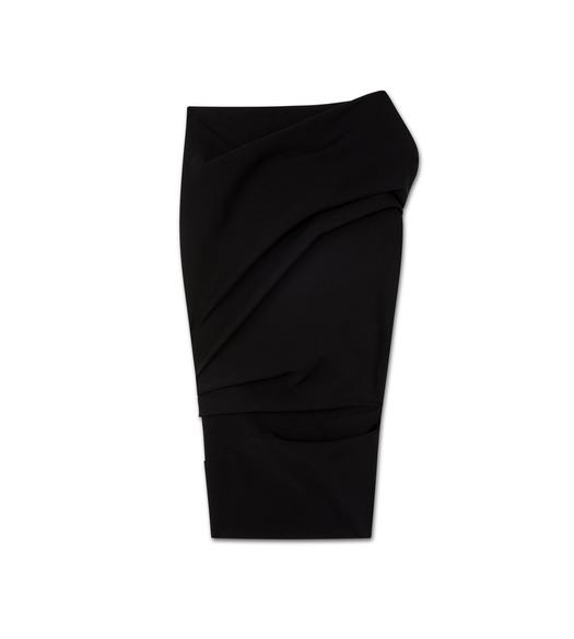 TWISTED PENCIL SKIRT