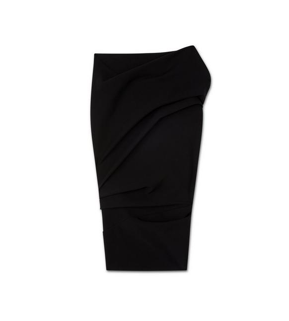 TWISTED PENCIL SKIRT A fullsize