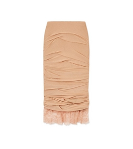3005269787 LIGHT JERSEY RUCHED SKIRT