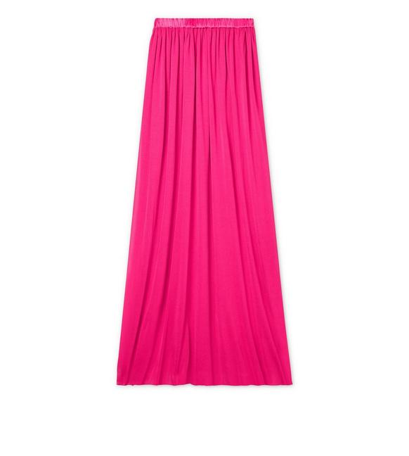 CREPE JERSEY FULL LENGTH SKIRT A fullsize