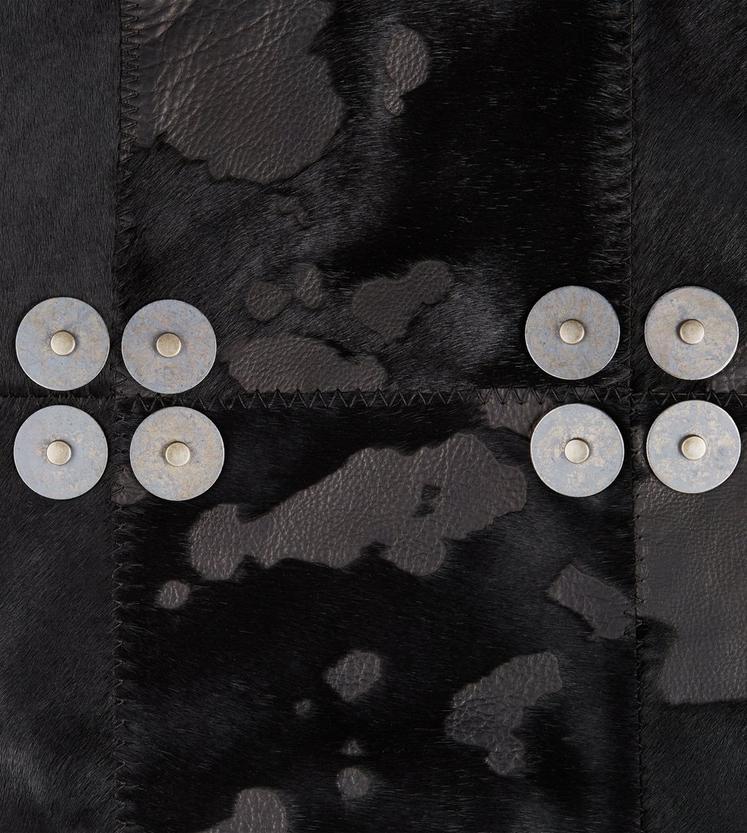 DESTROYED PONY PATCHWORK PENCIL SKIRT C fullsize