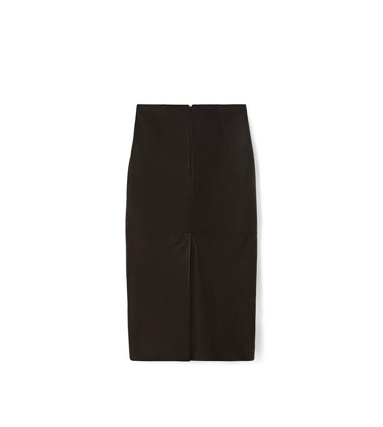 LEATHER PENCIL SKIRT B fullsize