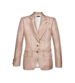VISCOSE TAILORED JACKET