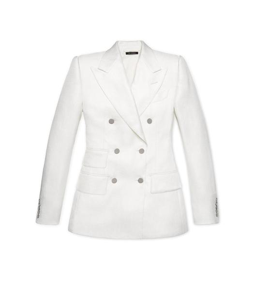 VISCOSE DOUBLE BREASTED JACKET