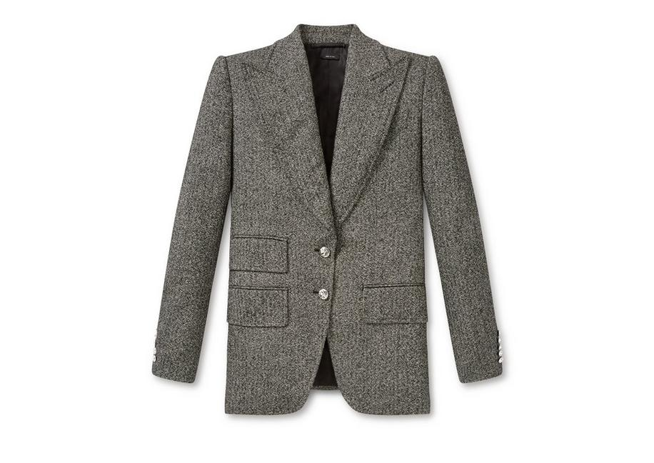TWEED DOUBLE BREASTED JACKET A fullsize