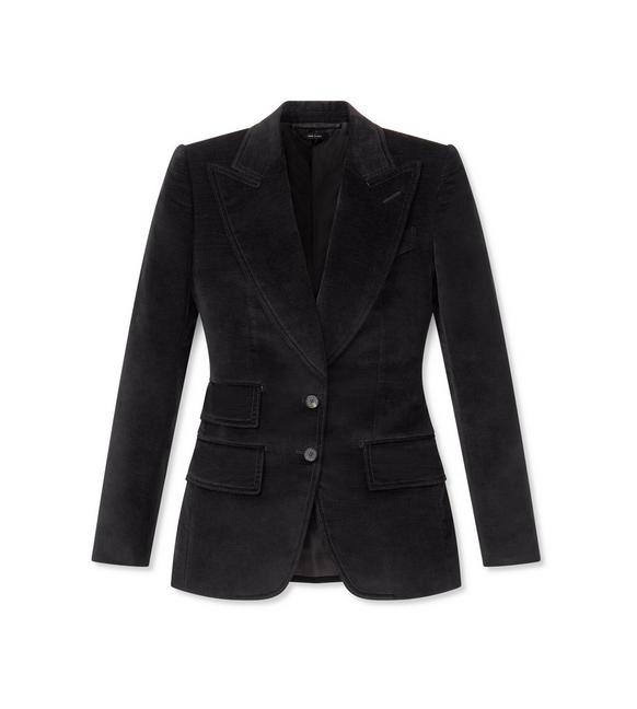 VELVET TAILORED JACKET A fullsize