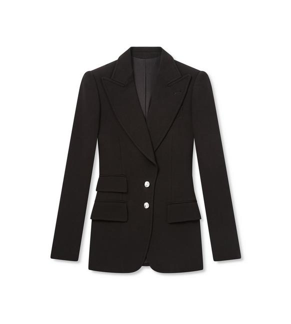 DOUBLE SPLITTABLE WOOL TAILORED JACKET A fullsize