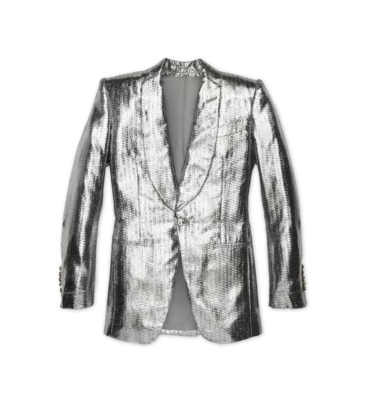 METALLIC LUREX COCKTAIL JACKET