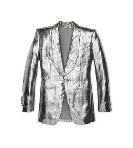 1335208552 METALLIC LUREX COCKTAIL JACKET