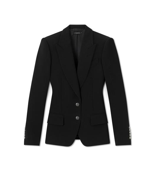 DOUBLE SPLITTABLE STRETCH WOOL TAILORED JACKET
