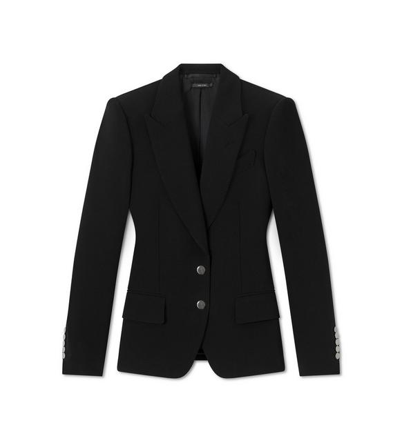 DOUBLE SPLITTABLE STRETCH WOOL TAILORED JACKET A fullsize