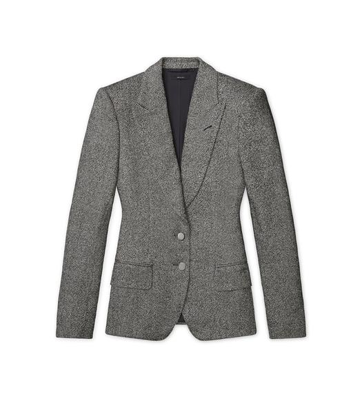 DONEGAL TWEED TAILORED JACKET