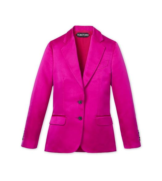 DOUBLE SILK DUCHESSE METRO JACKET