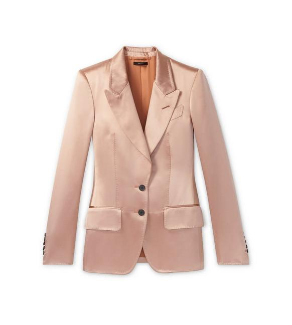 DOUBLE SILK DUCHESSE JACKET A fullsize