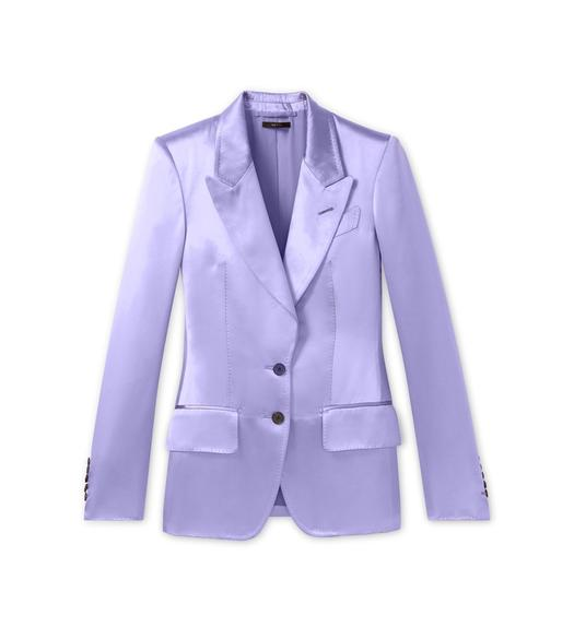 DOUBLE SILK DUCHESSE JACKET